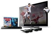 TV LED 3D 60'' Sony Bravia XBR-60LX905   Blu-ray 3D BDP-S470   Filmes   Óculos   Jogos