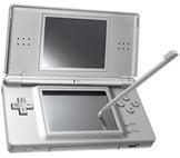 Vídeo Game Portátil Nintendo DS Lite Metalic Silver