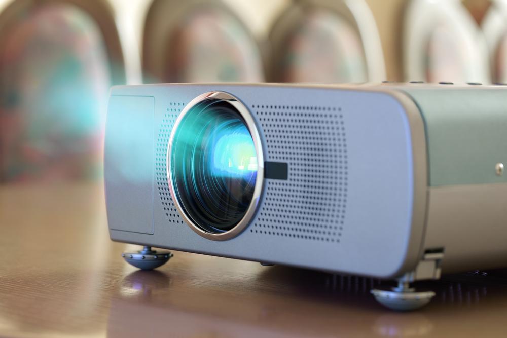 projetor na sua sala