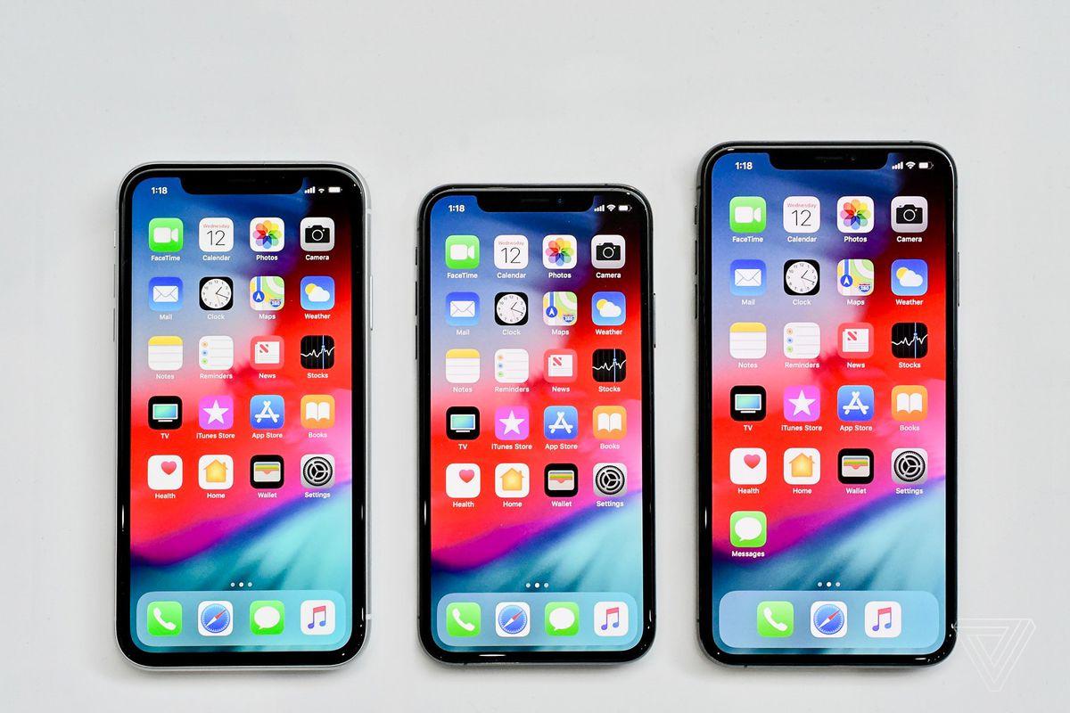 Novos modelos de iPhones 2018