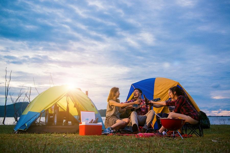 Viajar campo ou camping
