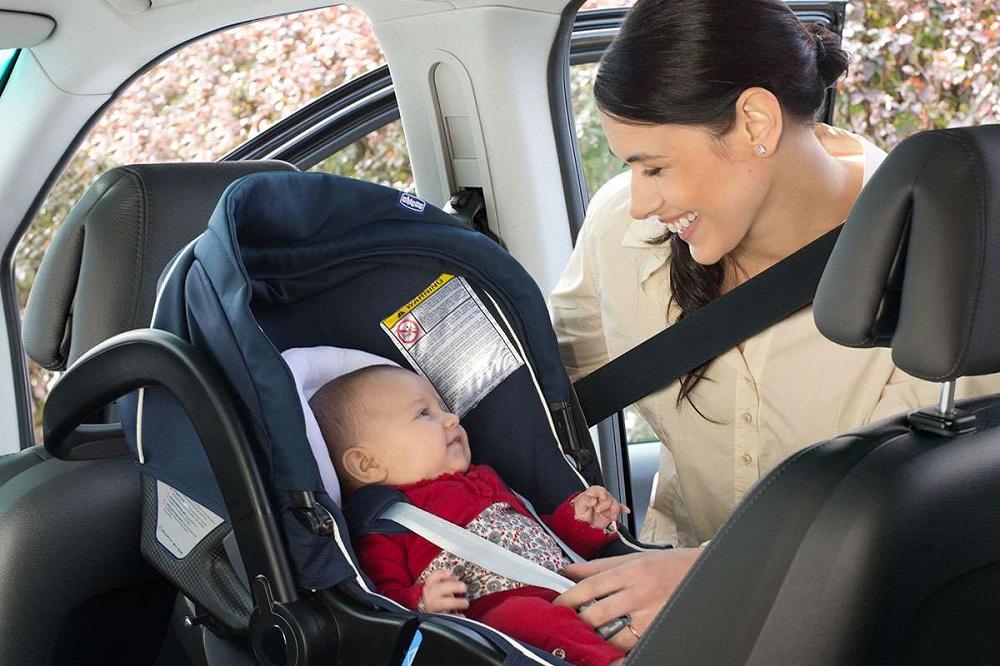 Bebê conforto viagem