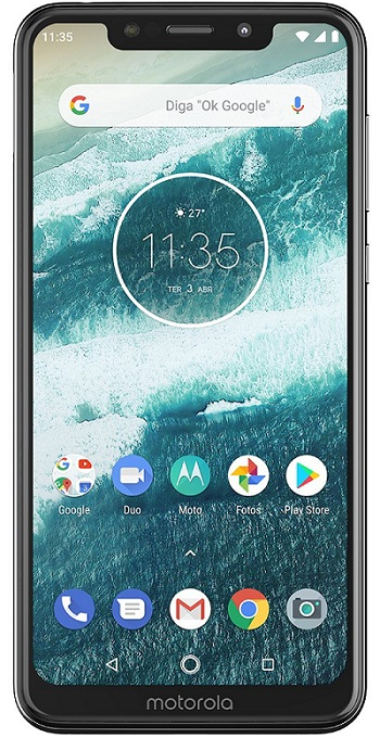 Motorola One tela