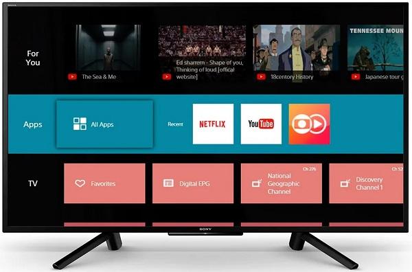 Smart TV Sony KDL-50W655F