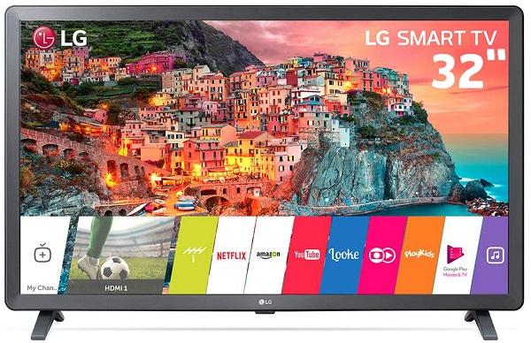 "Smart TV LED 32"" LG 32LK615BPSB"