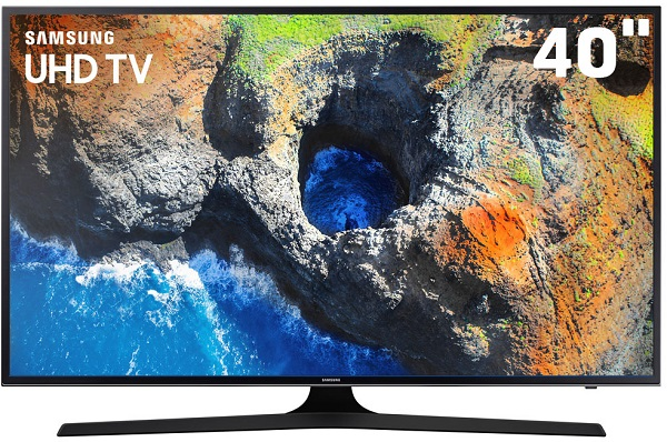 "Smart Tv LED 40"" Samsung 4k 40MU6100"