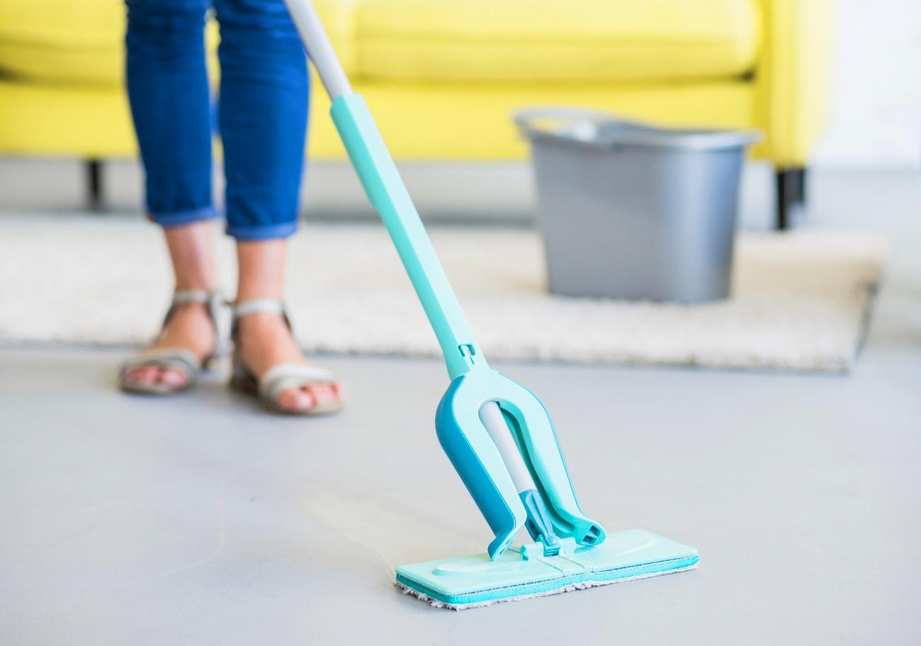 Limpa pisos para faxina