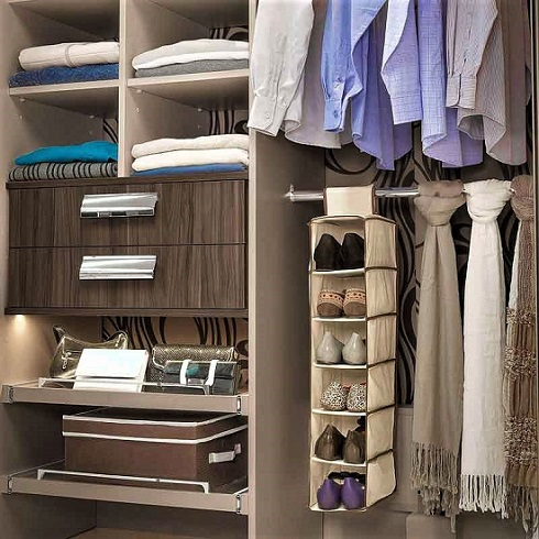 organizador guarda-roupa