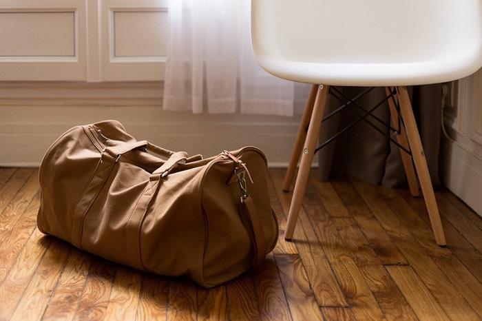 material de mala de viagem