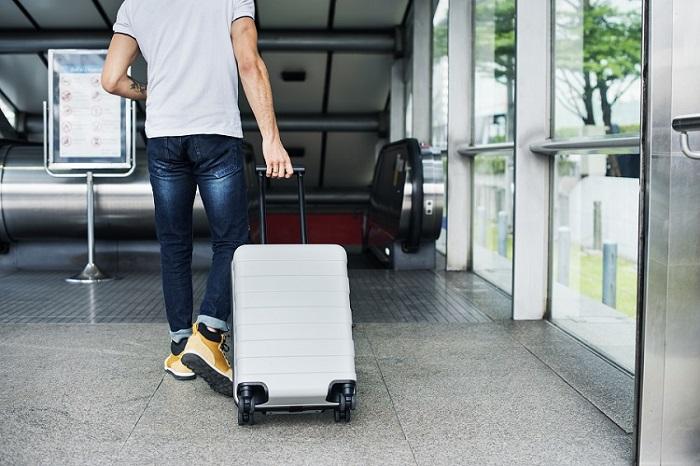 tipos de mala para viagem de avião