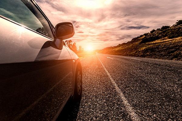 viagem de carro com segurança