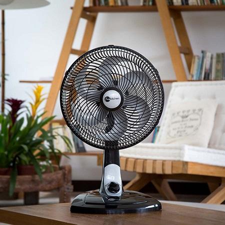 ventilador férias calor verão