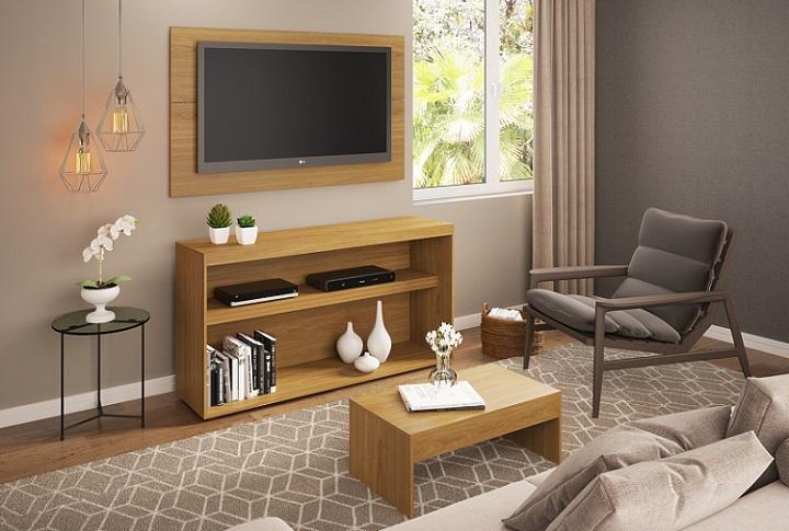 sala de estar troca dos móveis