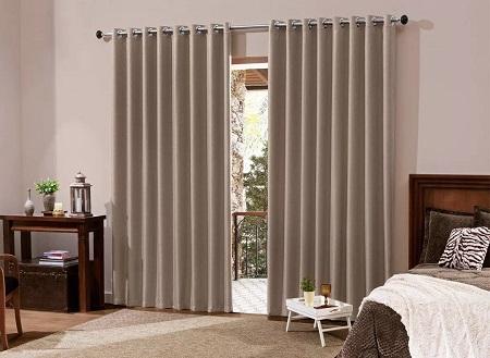 cortina bloqueia a luz