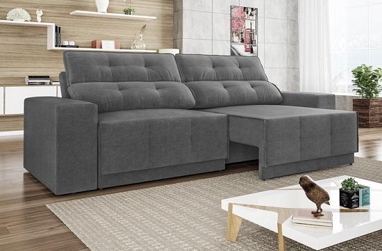 tecido do sofá