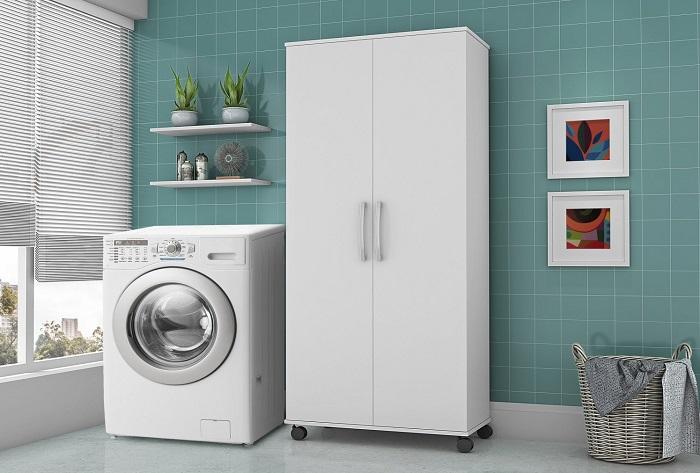 decoração na lavanderia