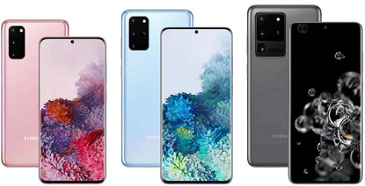 smartphones Samsung S20