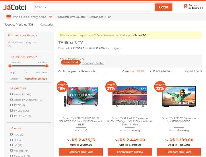 ofertas smart tv