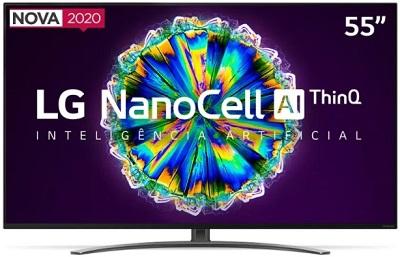 "Smart TV 55"" LG UHD 4K NanoCell 55NANO86"